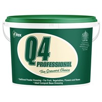 Vitax Q4 Fertiliser 10kg Tub (6QF10)