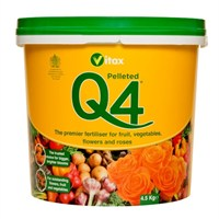 Vitax Q4 Fertiliser 4.5kg Tub (6QF45)