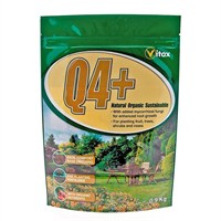 Vitax Q4+ Fertiliser 0.9kg Bag (6QFP16)