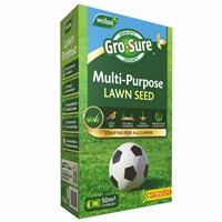 Gro-Sure Multi-Purpose Grass Lawn Seed - 50 sq.m - 1.5kg (20500173)