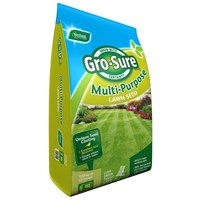 Gro-Sure Multi- Purpose Grass Lawn Seed - 120 sq.m - 3.6 kg (20500174)