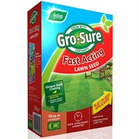 Gro-Sure Fast Acting Grass Lawn Seed - 15 sq.m - 450g (20500180)