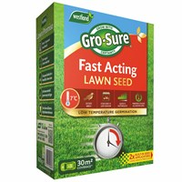 Gro-Sure Fast Acting Grass Lawn Seed - 30 sq.m - 900g (20500187)