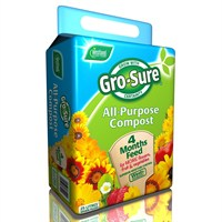 Westland Gro-Sure All-Purpose Compost Bale and 4 Month Feed 25L (11200017)
