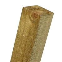 Zest 4 Leisure Green Post 2400 x 75 x 75mm