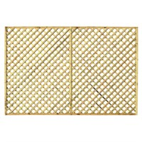 Zest 4 Leisure Hillside Diamond Trellis 1.83 x 1.22m