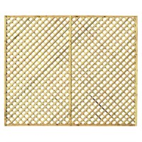 Zest 4 Leisure Hillside Diamond Trellis 1.83 x 1.524m