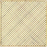 Zest 4 Leisure Hillside Diamond Trellis 1.83 x 0.915m