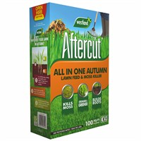 Aftercut All In One Autumn Lawn Care (Lawn Feed and Moss killer) - 100 sq.m - 3.5kg (20400456)