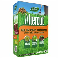 Aftercut All In One Autumn Lawn Care (Lawn Feed and Moss killer) - 200 sq.m - 7kg (20400457)