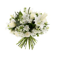 Baby Boy Scented Cut Flower Handtied Bouquet