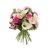 Baby Girl Bouvardia Cut Flower Handtied Bouquet