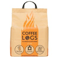 Bio Bean Coffee Logs (Premium Eco Briquettes) - 8kg