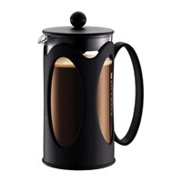Bodum Kenya 8 Cup Coffee Maker - Black (10685-01)