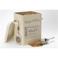 Burgon & Ball Bird Feed Tin - Jersey Cream (GYO/BIRDCREAM)