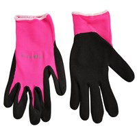 Burgon & Ball Fluorescent Garden Glove - Pink Small/Medium (GFB/GGPINKSM)