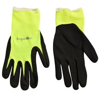 Burgon & Ball Fluorescent Garden Glove - Yellow Medium/Large (GFB/GGYELLML)