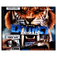 Carlton Books iExplore Extinct Animals AR Childrens Book