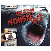 Carlton Books iExplore Ocean Monsters AR Childrens Book