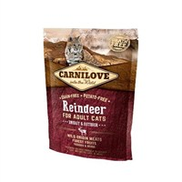 Carnilove Reindeer Cat Food for Adult Cats - Energy & Outdoor 400g (512263)
