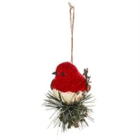 CBI Imports Alpine Knitted Birds Hanging Christmas Tree Decoration - Design 1 (11138117)