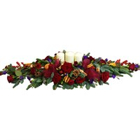 Christmas Luxury Long & Low Centrepiece Arrangement