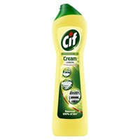 Cif Cream With Microparticles Lemon Cleaner - 500ml (Mrs Hinch)