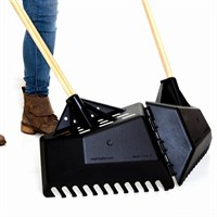 Clear 'N' Collect Multi Purpose Leaf Rake & Collector