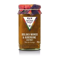 Cottage Delight Bolaka Mango & Aubergine Chutney - 340g (CD200047)