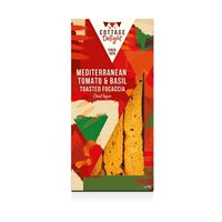 Cottage Delight Mediterranean Tomato & Basil Toasted Focaccia - 100g (CD730009)