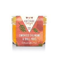 Cottage Delight Smoked Salmon & Dill Pâté - 180g (CD430062)