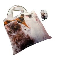 Country Matters Cat Trio Fold Away Shopping Bags (CMBAG0122)