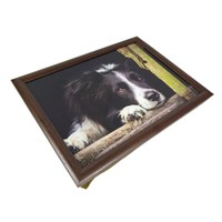 Country Matters Collie Chill Out Lap Trays (CMLT0130)