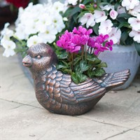Creekwood Bird Planter - Bronze (43077)