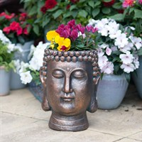 Creekwood Buddha Head Planter - Bronze (43083)