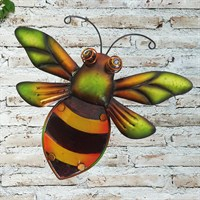 Creekwood Bumblebee Glass Wall Art (48033)