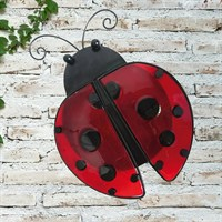 Creekwood Ladybird Glass Wall Art (48034)