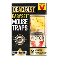 Deadfast Easy Set Mouse Trap - Twin Pack (20300397)