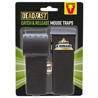 Deadfast Humane Live Catch and Release Mouse Trap - Twin Pack (20300401)