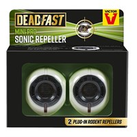 Deadfast Mini Pro Rat and Mouse Sonic Repeller - Twin Pack (20300404)