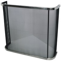 Direct Dispatch Ivyline Bushed Steel Fire Screen (WFBSSCR)