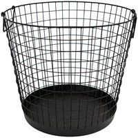 Direct Dispatch Ivyline Iron Wire Log Basket (WFIWLB)