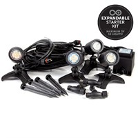 Ellumiere Connext 'Plug n Play' 4 X Small Spotlight Starter Kit (01EL201)