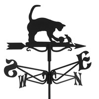 Espira Mini Cat & Mouse Weathervane (2904)