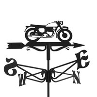 Espira Mini Vintage Motorcycle Weathervane (2932)