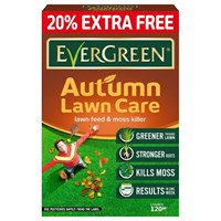 Evergreen Autumn Lawn Food 100m + 20% Extra Free (119497)