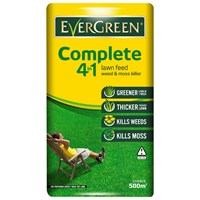 Evergreen Complete 4 in 1 Lawn Feed, Weed & Moss Watersmart 500m2 (119487)