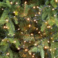 Festive 1000 Glow-Worm LED Christmas Lights - Warm White (P030505)