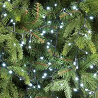 Festive 1000 Glow-Worm LED Christmas Lights - White (P030502)