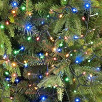 Festive 760 Glow-Worm LED Christmas Lights - Multi Coloured (P030500)